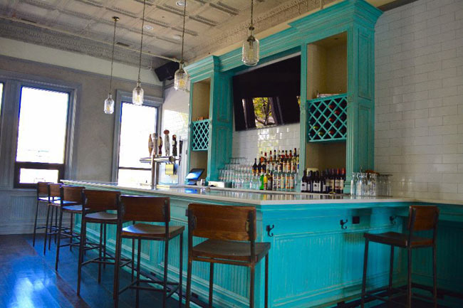 Upstairs Catering Room Bar Area