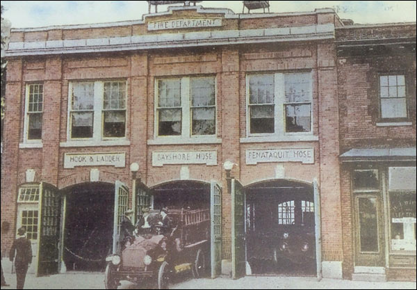 Our Story - Photo of Original Bay Shore Fire Department